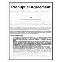 Prenuptial agreement form does it work?