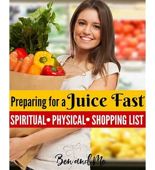 Preparing For A Juice Fast