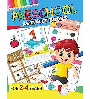 Preschool Activity Books Free Download