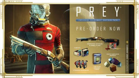 Prey Shotgun Pre Order