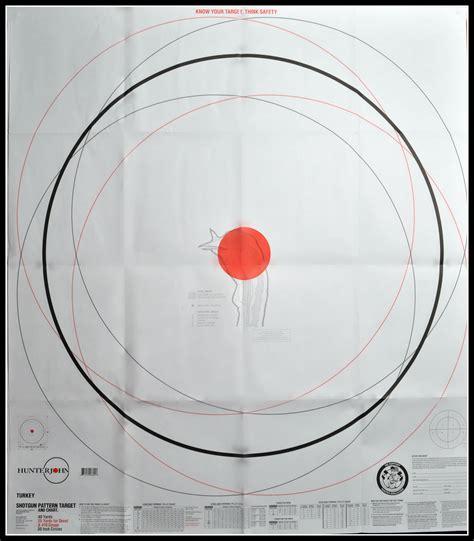 Printable Shotgun Patterning Targets