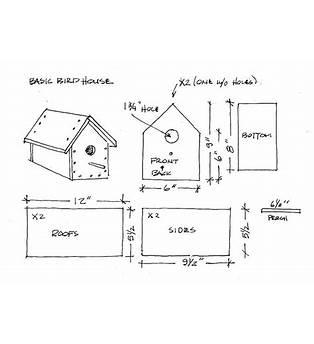 Printable Birdhouse Plans
