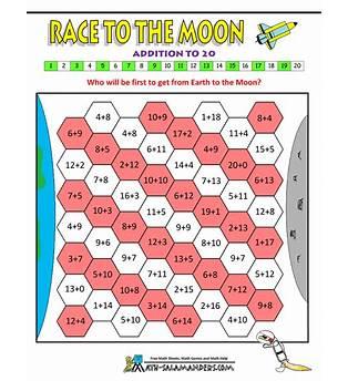 Printable Math Games For Kids 2nd Grade