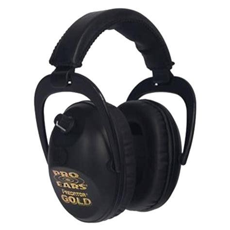 PRO EARS PREDATOR GOLD HEADSETS Brownells