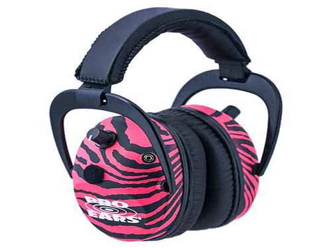 Pro Ears Predator Gold Headsets Predator Gold Nrr 26 Pink