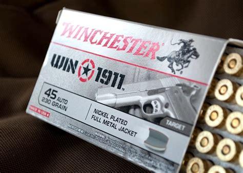 Product Review Winchester Win1911 Ammunition Handgun Planet