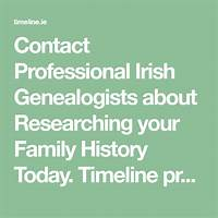 Professional genealogist in ireland for your research coupon codes