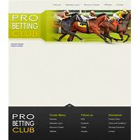Professional horse racing service promotional codes