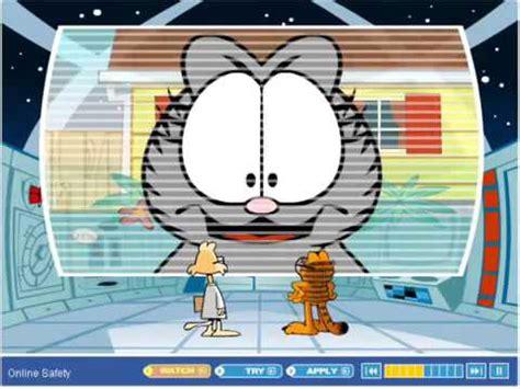 Professor Garfield Internet Safety Part 1 2