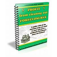 Profit from cleaning out foreclosures experience