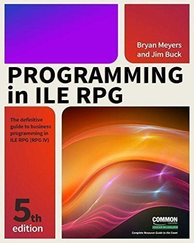 programming in ile rpg fifth edition pdf manual