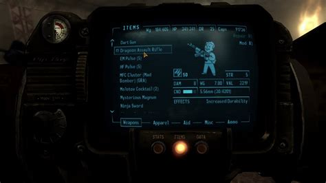 Project Nevada Dragoon Assault Rifle