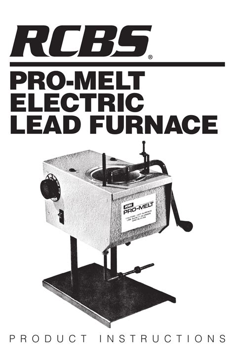 Promelt Electric Lead Furnace Rcbs And Universal Case Prep Center Rcbs
