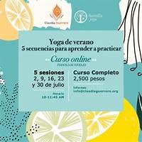 Promocion de verano curso yoga en espaol mas vendido en cb that works