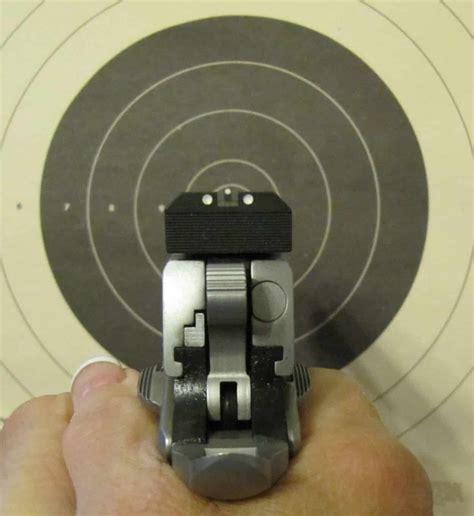 Proper Sight Picture For Handgun