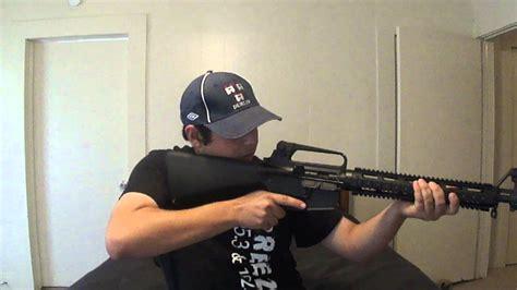 Proper Way To Hold An Assault Rifle