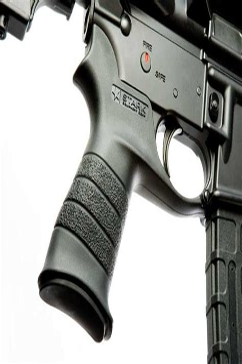 Protruding Pistol Grip