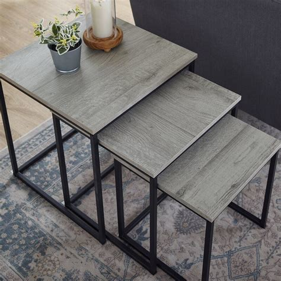 Provenzano 3 Piece Nesting Tables
