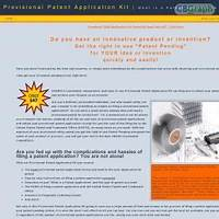 Provisional patent application kit patent pending made easy! discounts