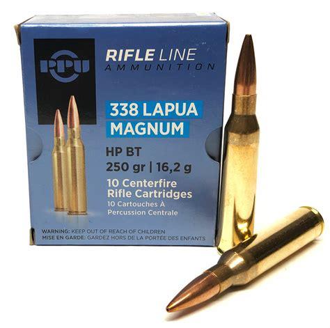 Prvi Partizan Ppu 338 Lapua Magnum