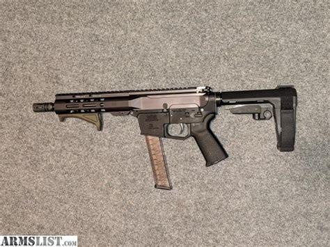 Psa Gen4 8 9mm 1 10 7 Lightweight Mlok Moe Sba3 Pistol