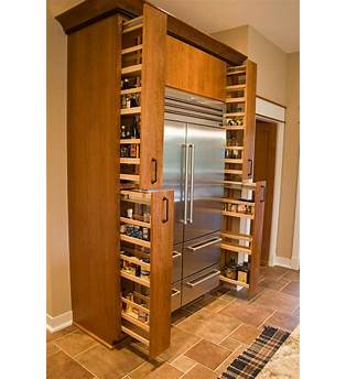 Pull Out Spice Cabinet Plans