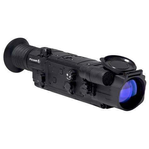 Pulsar Digital Rifle Scope And Rws Model 48 Air Rifle With Scope