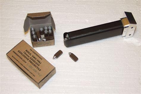 Pulse Rifle Ammo And Us 30 Caliber Ammo Can