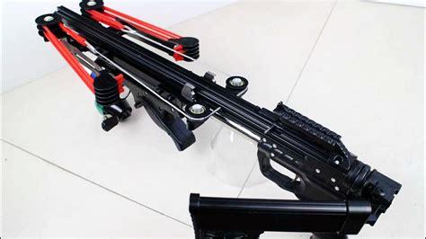 Pump Action Semiauto Slingshot Rifle