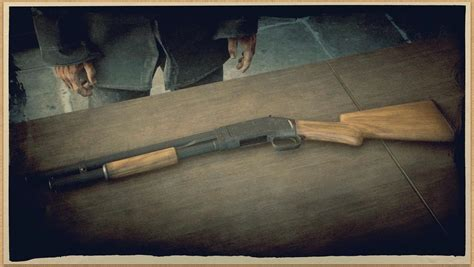 Pump Action Shotgun Rdr