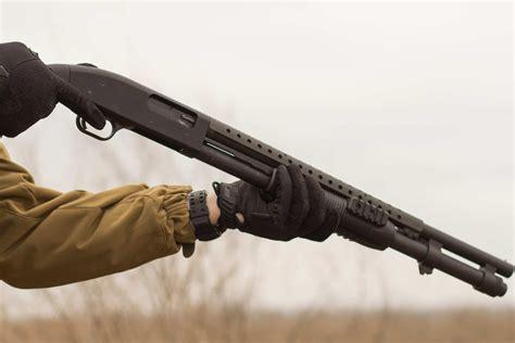 Pump Action Shotgun Speed Shooting