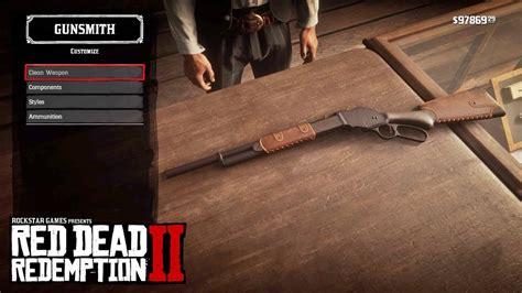 Pump Action Vs Repeating Shotgun Red Dead