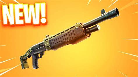 Pump Shotgun Fortnite New