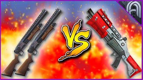 Pump Vs Tactical Shotgun Fortnite