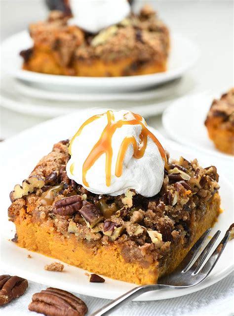 Pumpkin Crunch Cake Bud Recipes