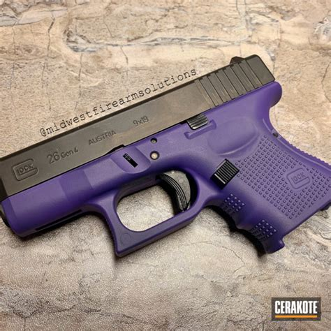 Purple Glock 26