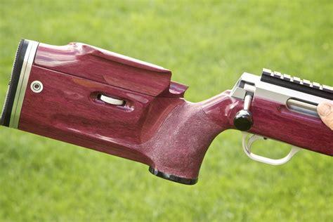 Purple Heart Wood Rifle Stock