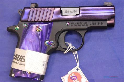 Sig-Sauer Purple Sig Sauer.