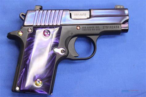 Purple Sig Sauer 380