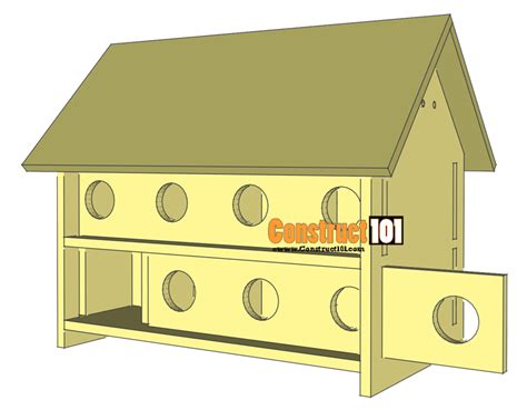 Purple martin house plans free Image