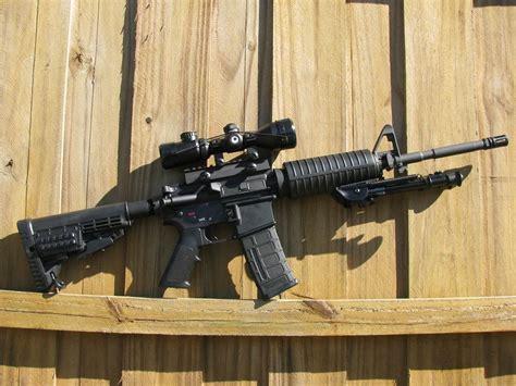 Put A Rifle Scope On A Ar15