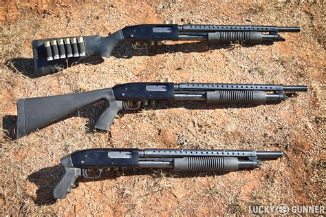 Putting A Stock On A Pistol Grip Shotgun