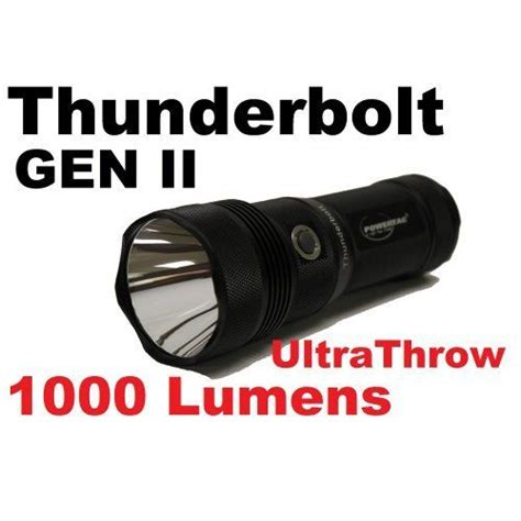 PWTTHUNG2 POWERTAC THUN-G2 1000-Lumen Thunderbolt Gen II