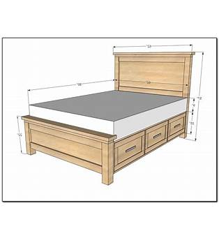 Queen Bed Frame Construction Plans