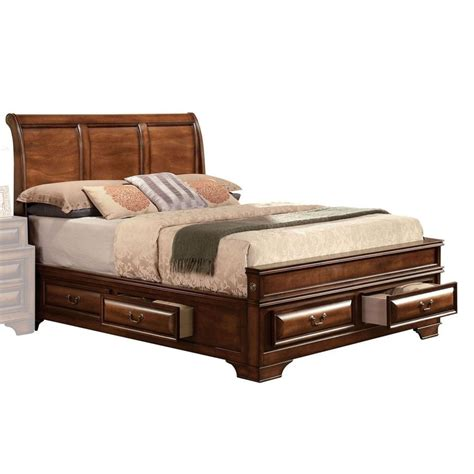 Queen bed storage Image