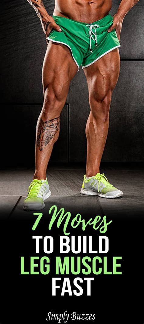 Quick Way To Build Muscle In Legs
