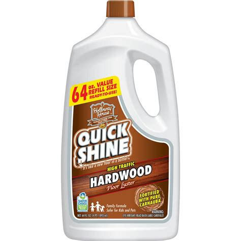 Quick shine hardwood floor luster Image