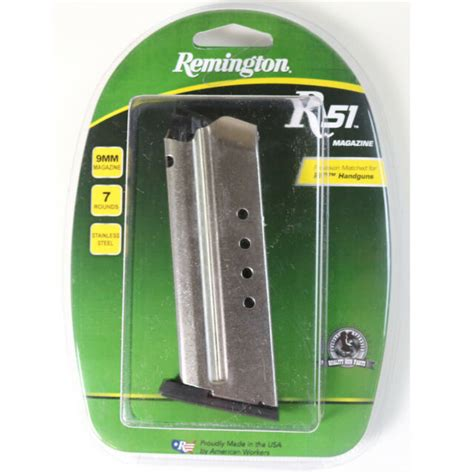 R51 Magazine 9mm Rifle Magazines 7 Round Stainless