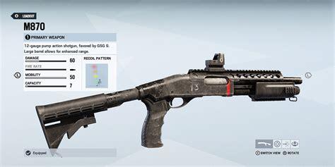 R6 Siege Shotgun Sight
