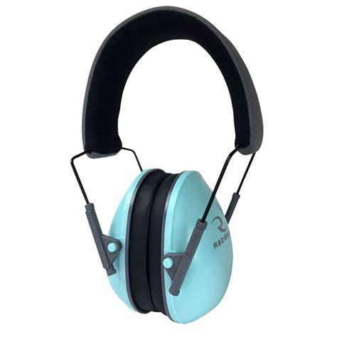 Radians Ladies Lowset Aqua Passive Ear Muff Eye Protection Combo Ladies Lowset Passive Earmuffs Eye Protection Aqua